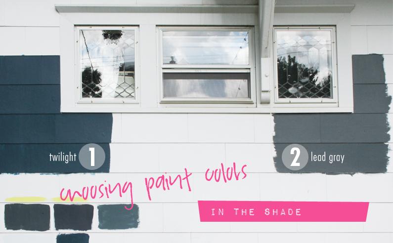 Paint Colors, Ahh.