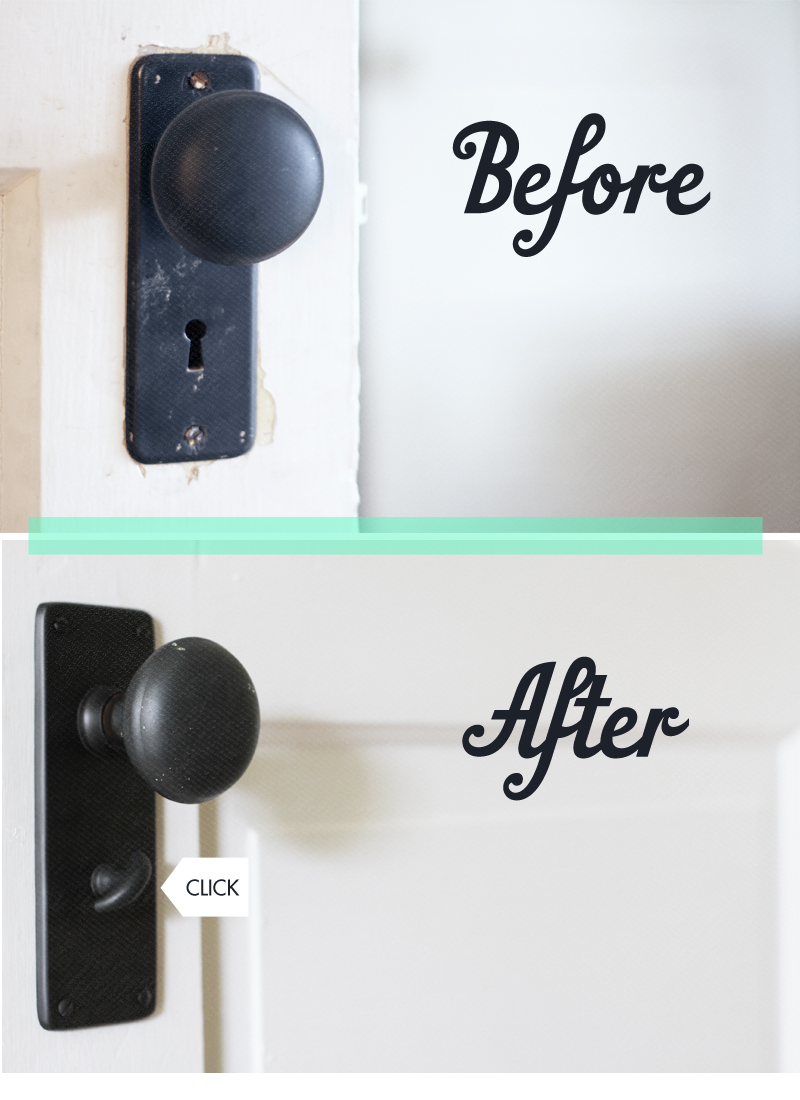 Another Post About Door Knobs
