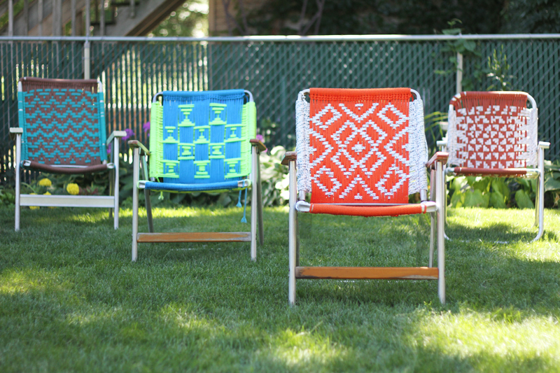 Tutorial Macrame Lawn Chair Deuce Cities Henhouse