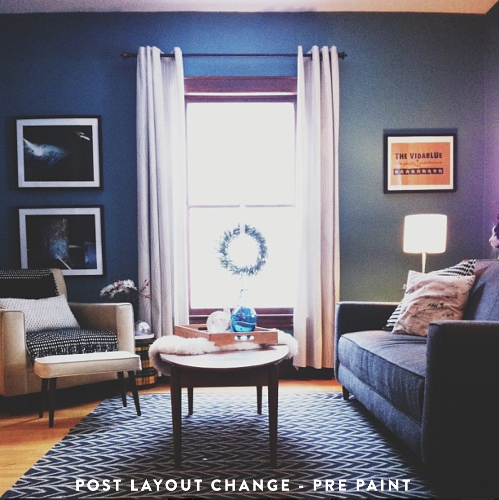 Blue Living Room, New Layout