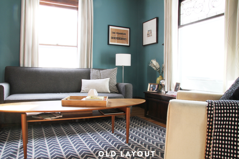 Blue Living Room, Old Layout