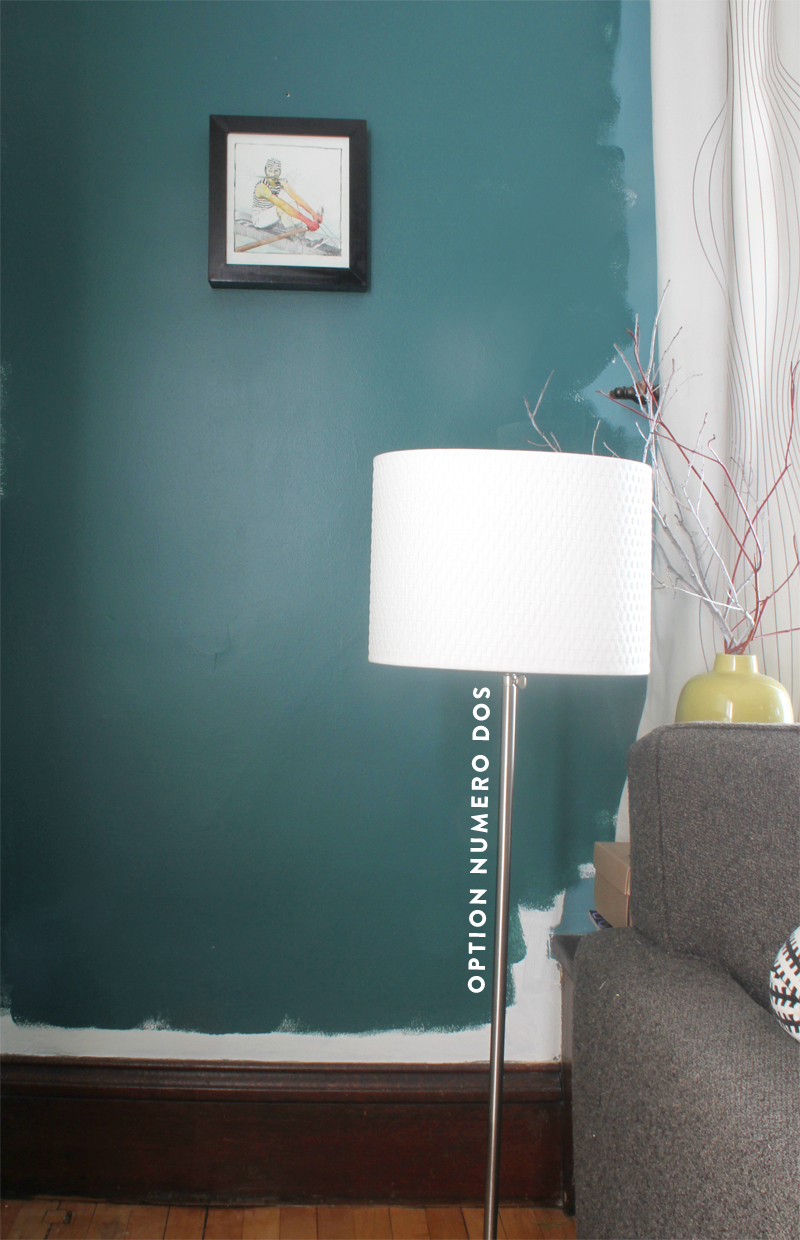 Weighing options for Benjamin moore turquoise colors