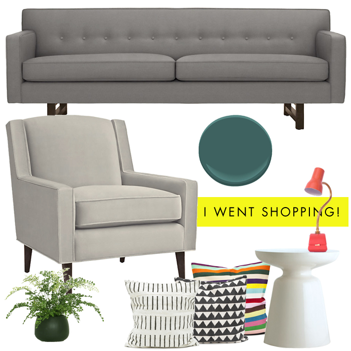 Living Room Shopping