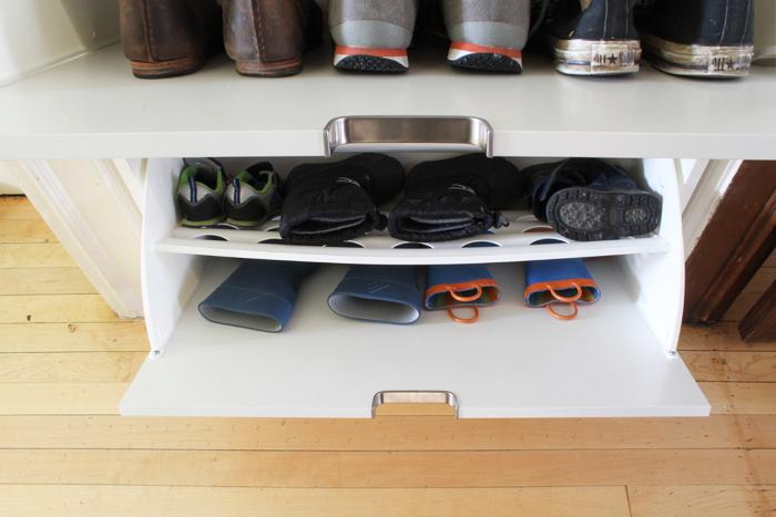 Stylish Shoe Storage