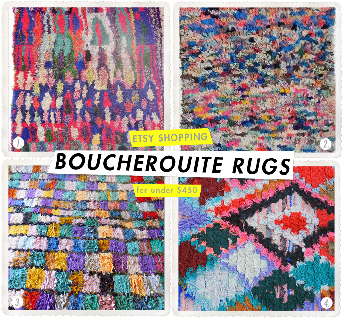 Etsy Finds - BOUCHEROUITE RUGS - Etsy Finds