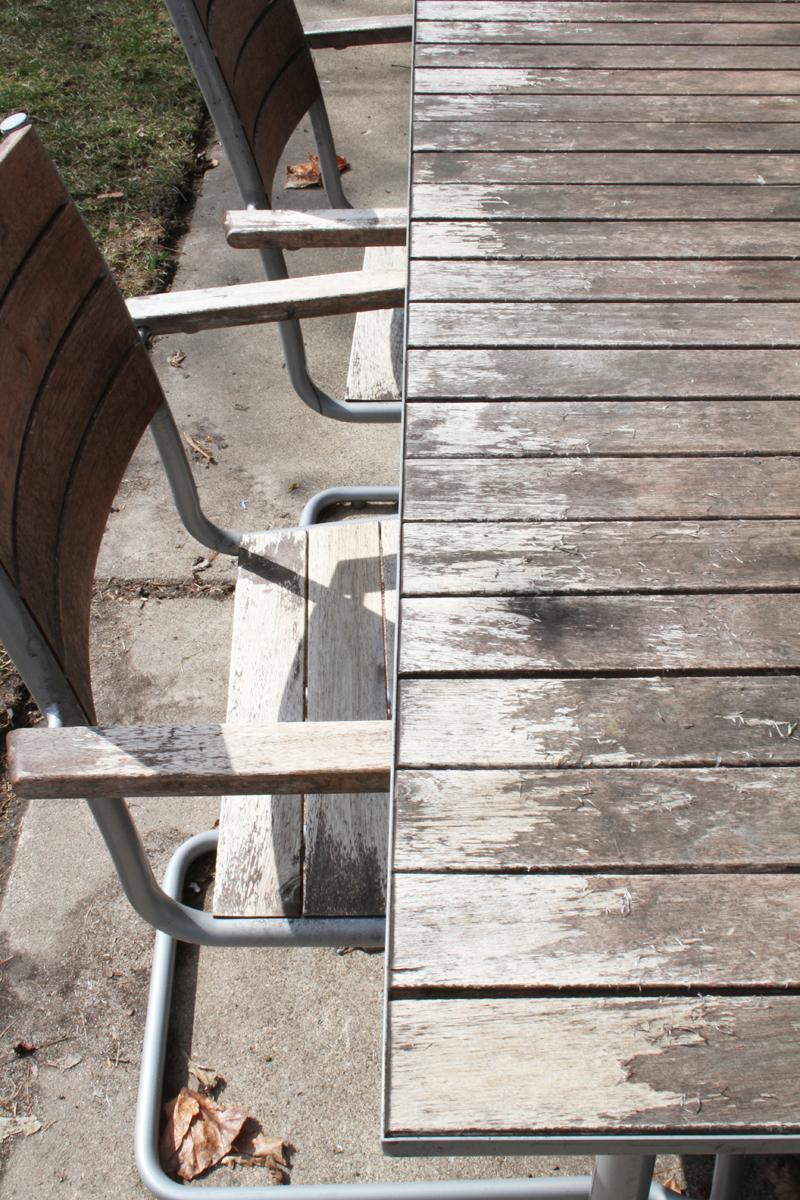 Acacia Wood Weathered Furniture