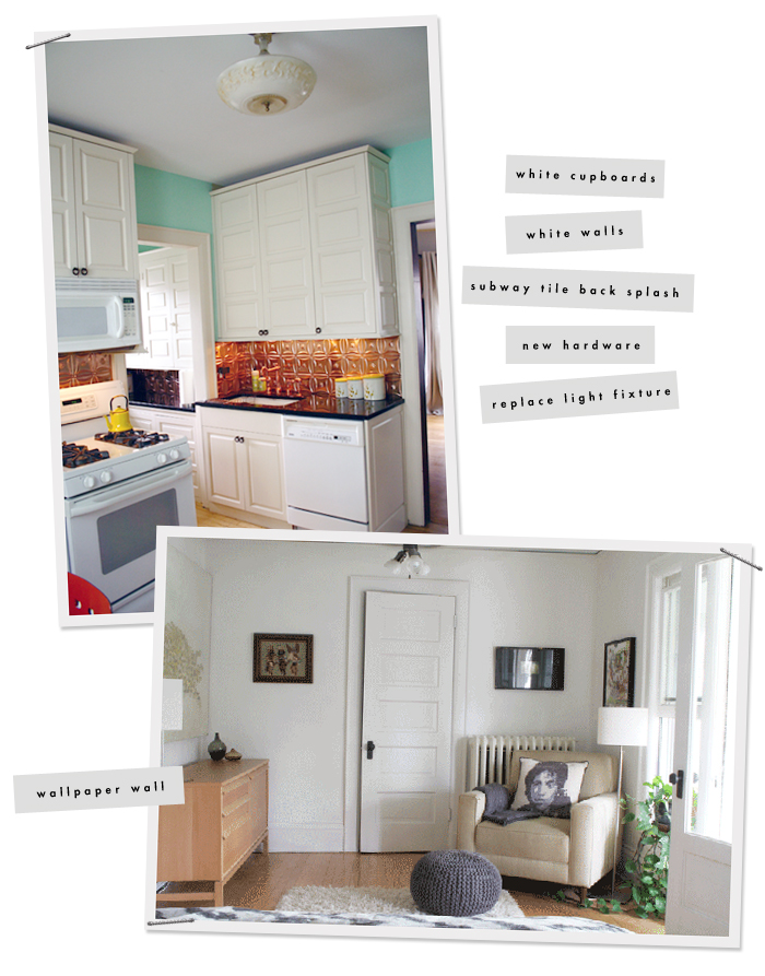 Projects to do : Kitchen and Bedroom