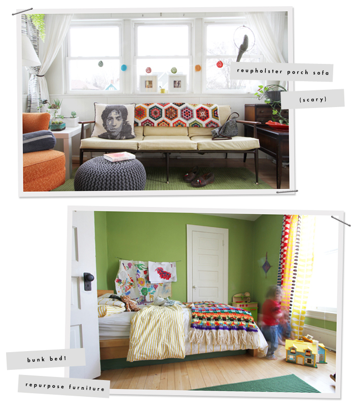 Projects to do : Kid's Room & Porch Sofa