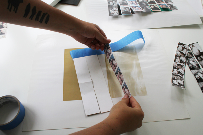 Framing Photo Booth Photo Strips Deuce Cities Henhouse
