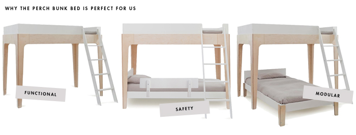 Popular Perch Bunk Bed Function meets style