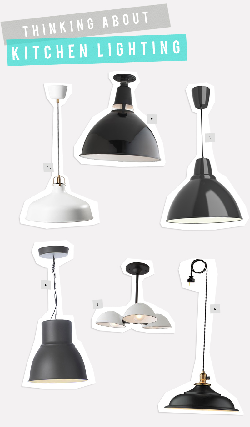 Vintage Industrial Lighting Options for the Kitchen