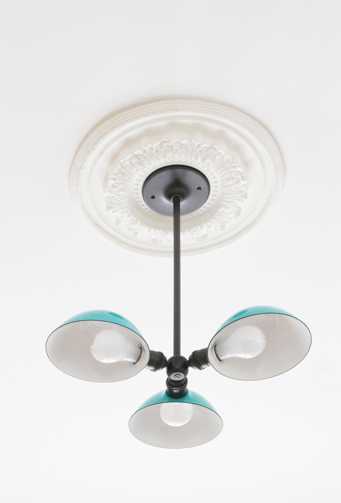 Aqua light fixture from School House Electric