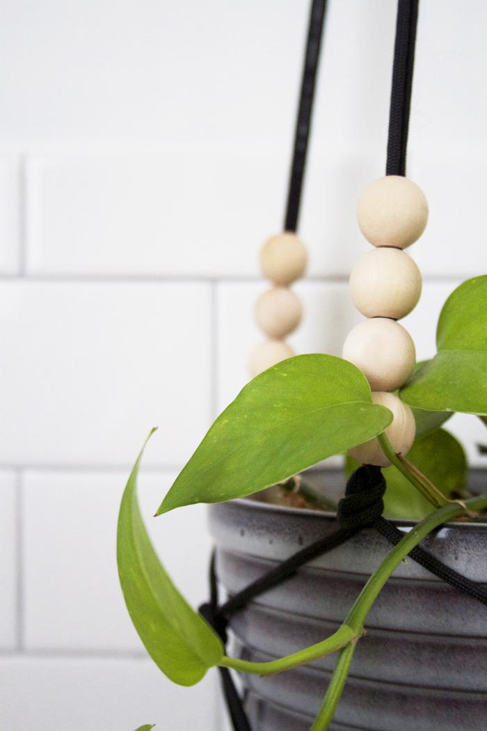 Easy DIY Modern Macrame Planter Tutorial