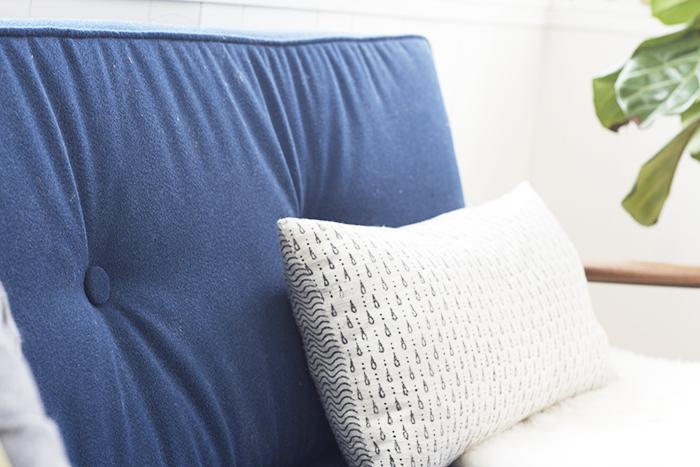 Tufted Back - DIY Sofa Upholstery