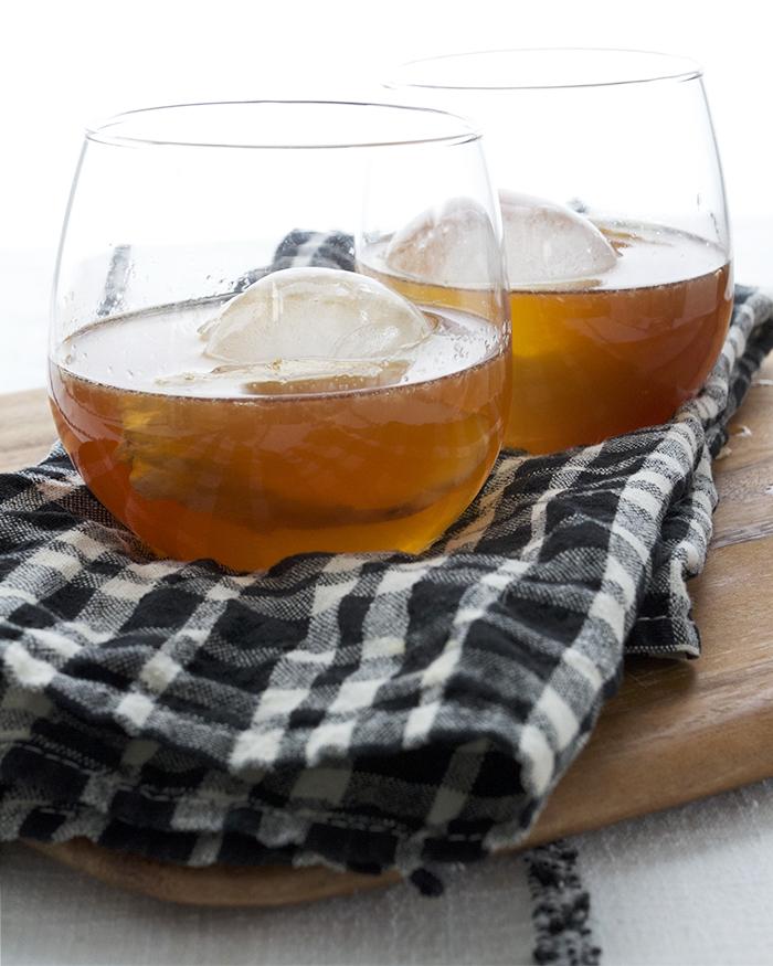 The Rusty Iceberg - Tequila, Averna, Ginger, Lemon and Honey