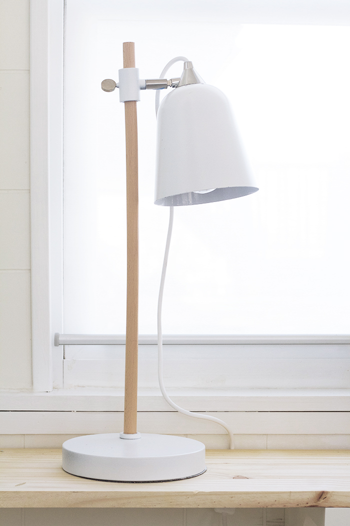 Spray Painted Target Lamp