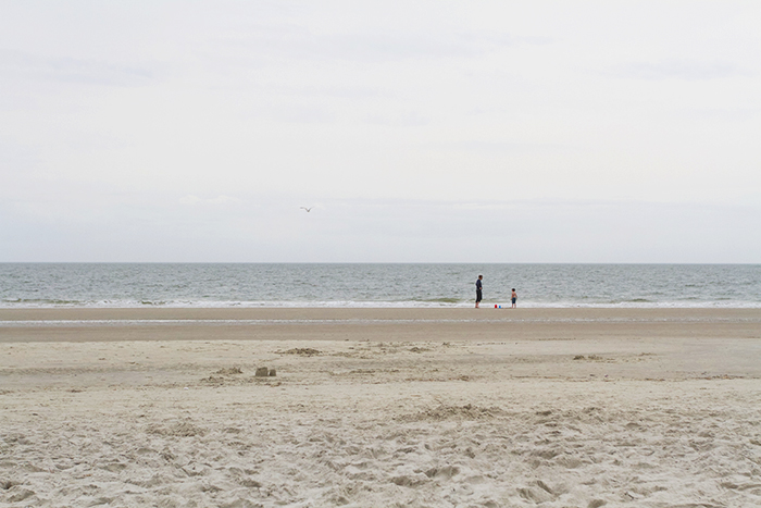 Finn & Waff at Tybee Beach