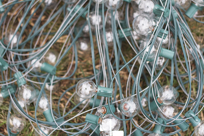 How to Hang Party Lights