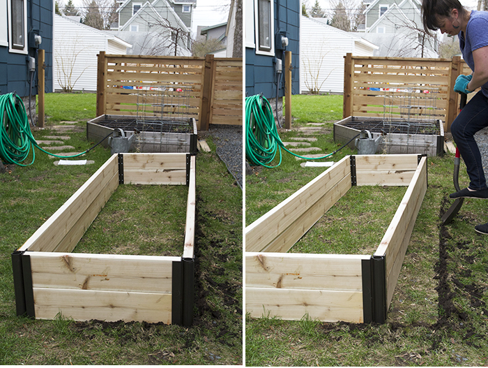 Building a Raised Bed Garden