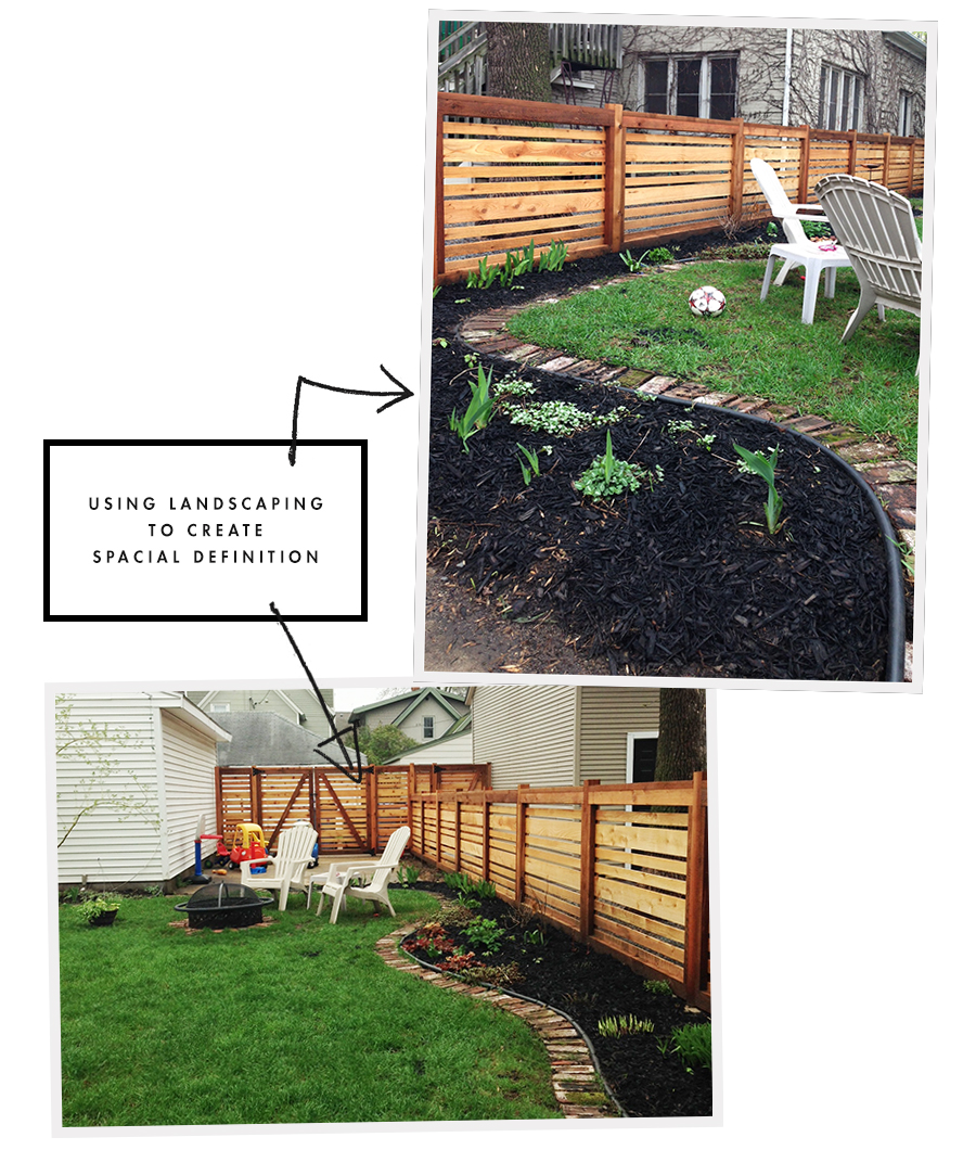 Landscaping in Need of Zones Using Natural Elements