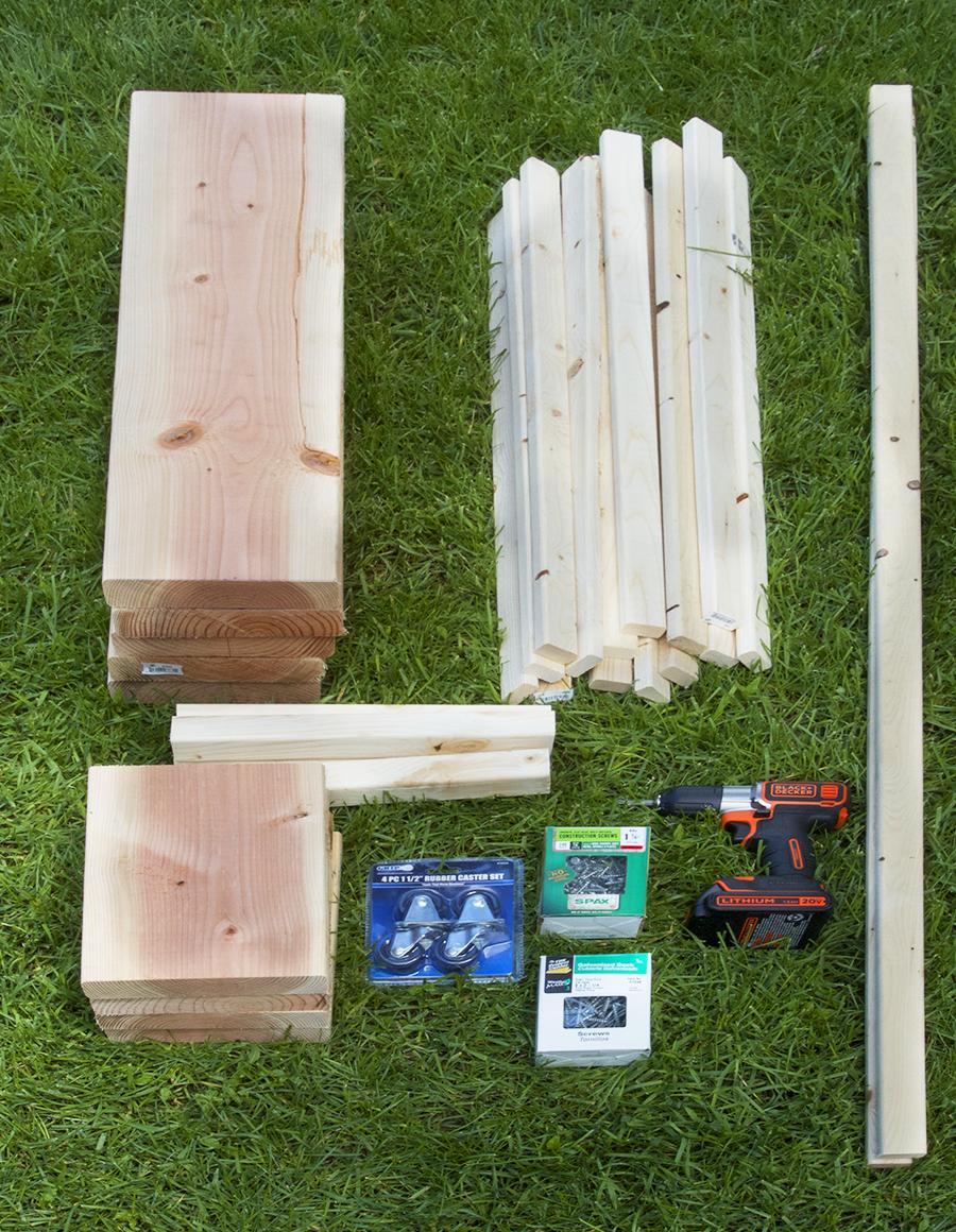 DIY Trellis and Planter Box Tutorial