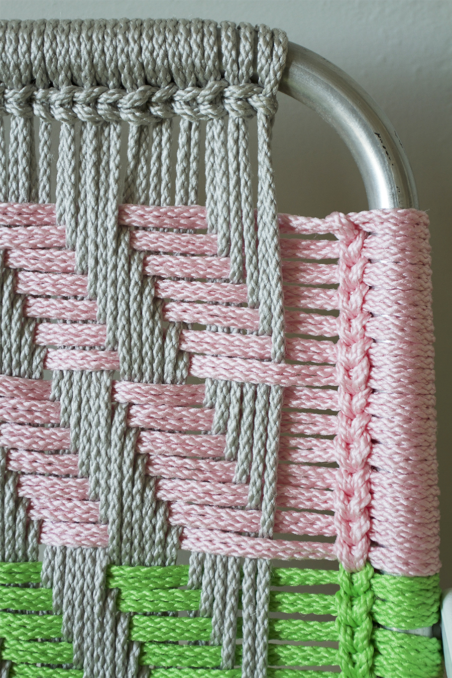 woven macram chair tutorial deuce cities henhouse