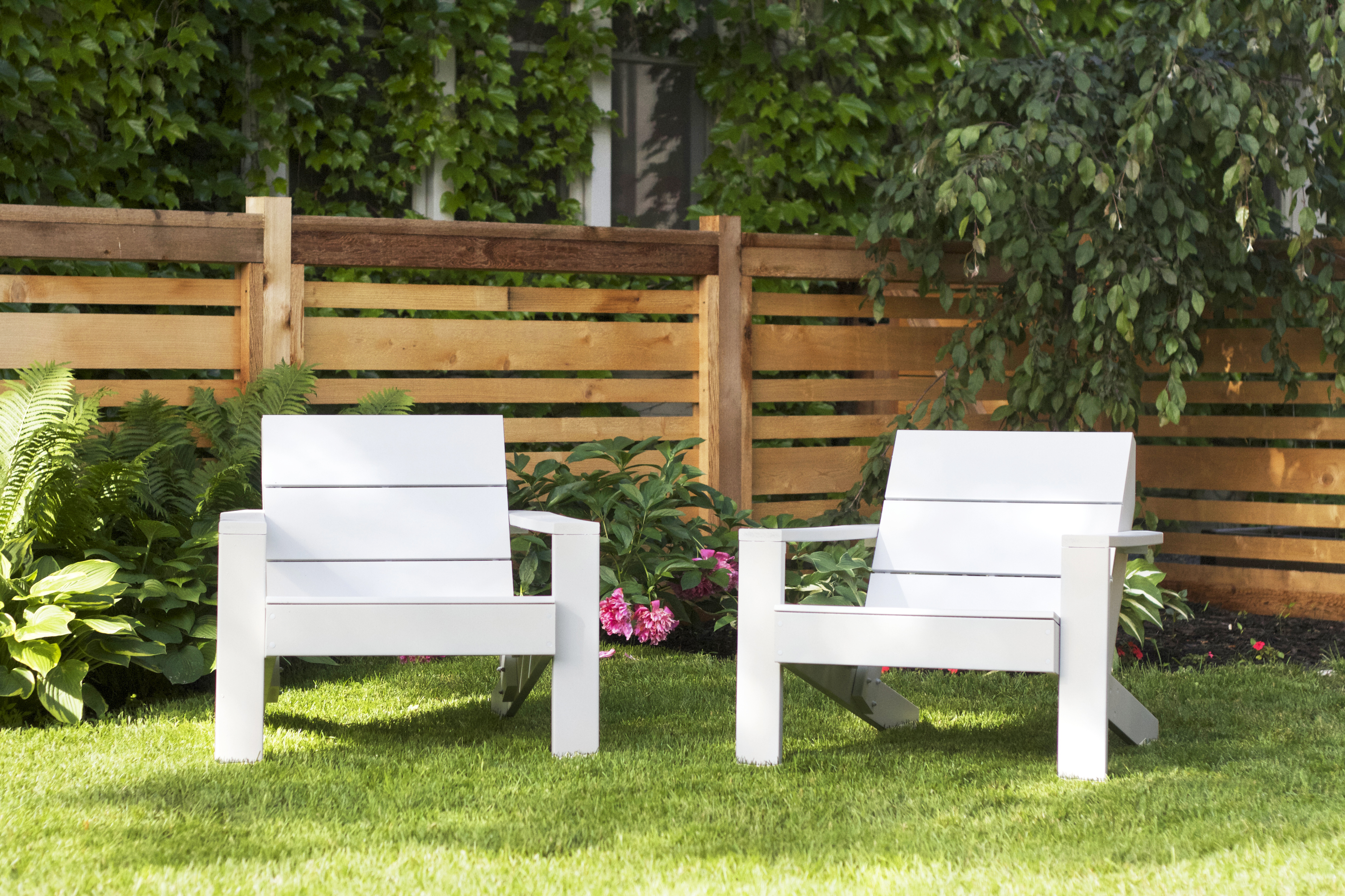 New White Outdoor Chairs