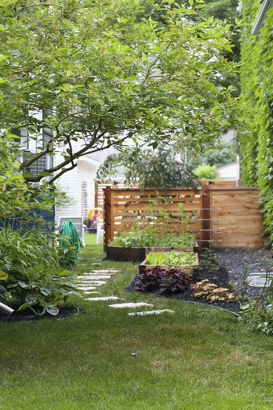 Raised Bed Side Garden