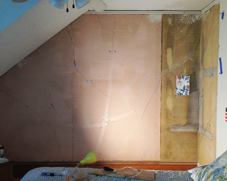 Skim Coating and Repairing Plaster Walls