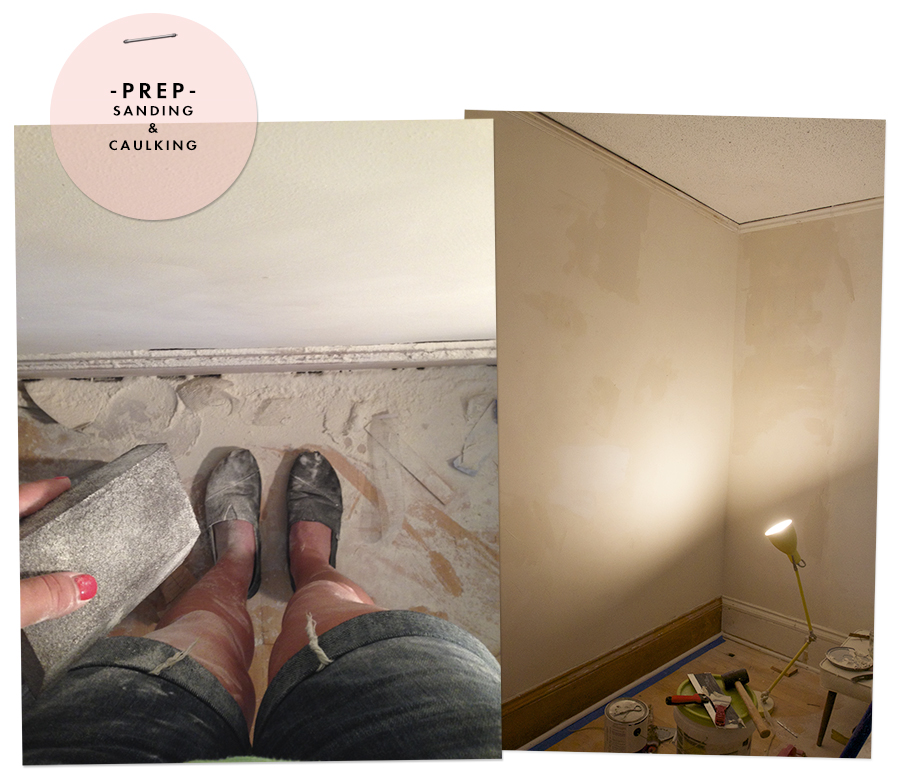 Deuce Cities Henhouse - Skim Coating & Repairing Walls