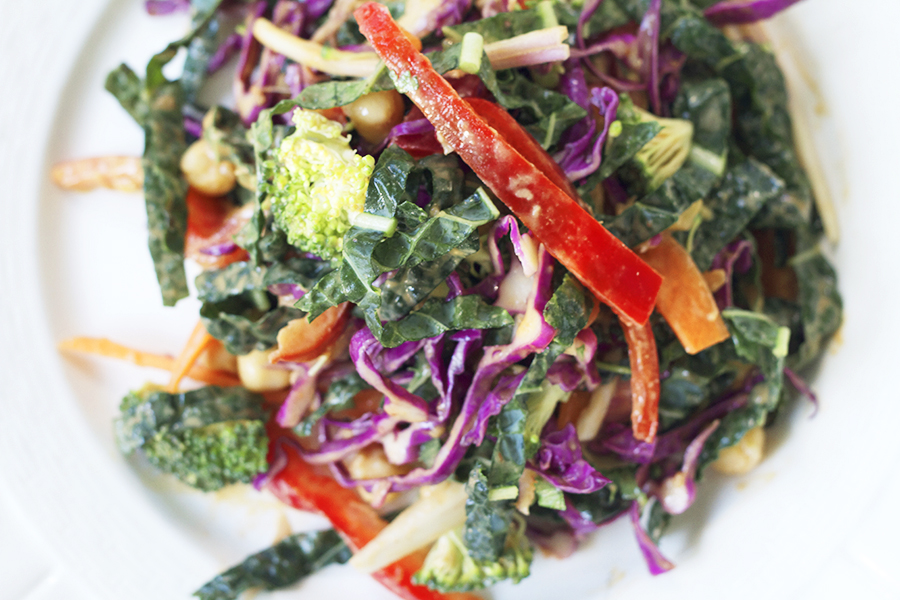 Recipe : Veggie Thai Salad