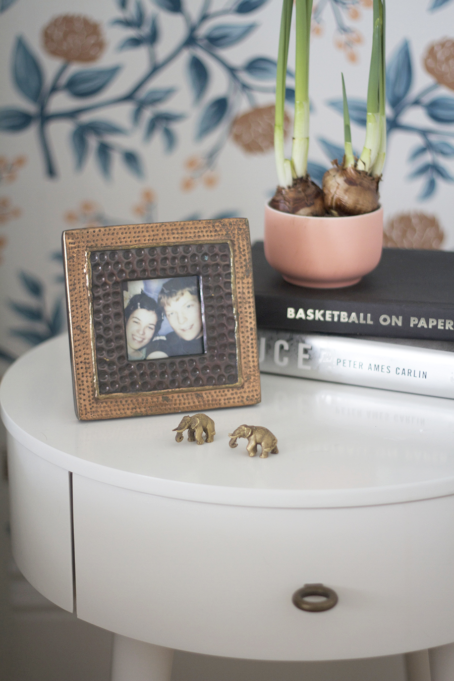Nightstand Styling for a Guy