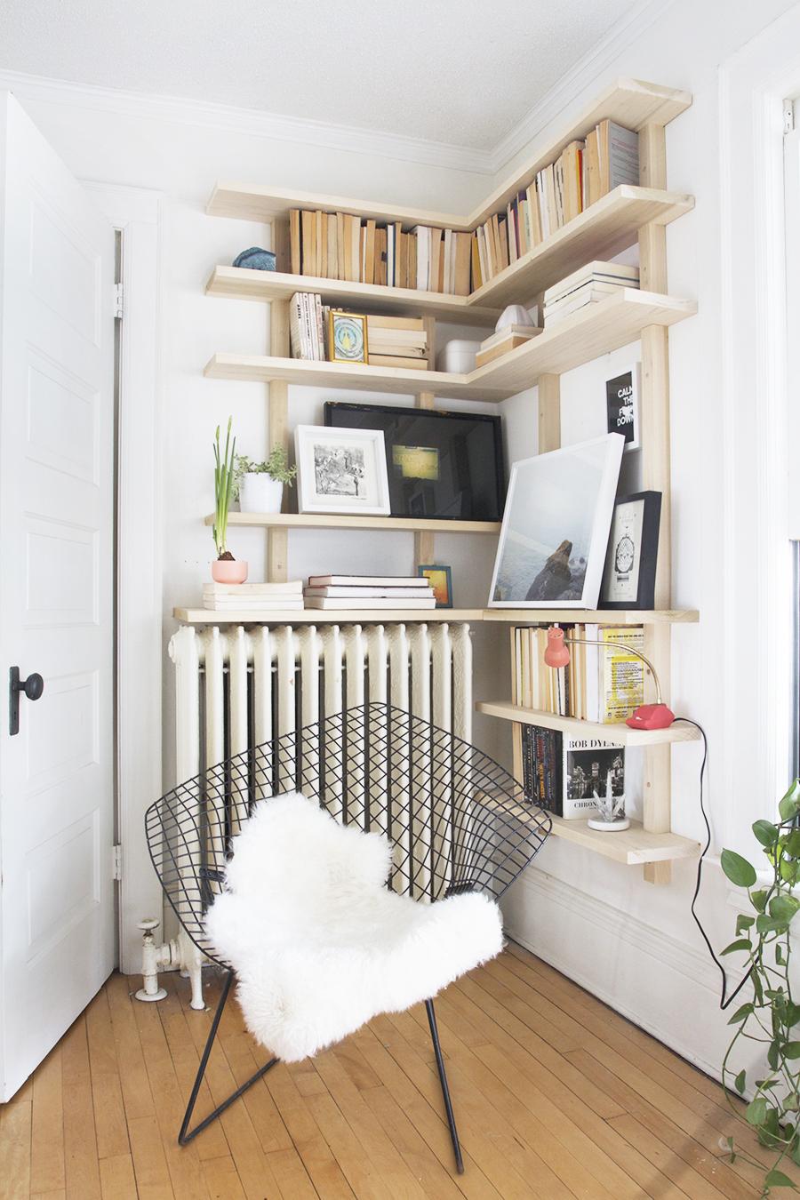 Corner Shelves! - Deuce Cities Henhouse