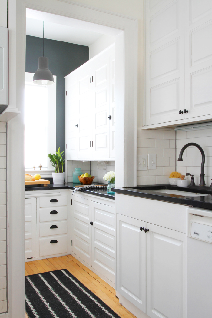 Deuce Cities Henhouse - Updating a century old kitchen with subway tile and paint