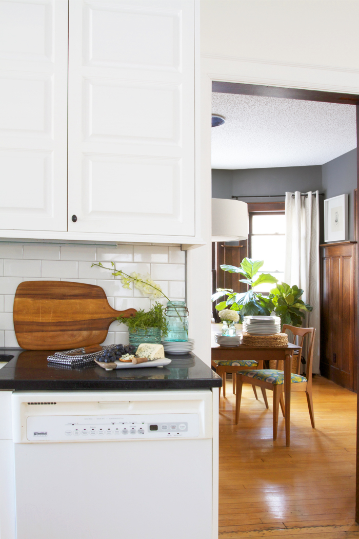 Deuce Cities Henhouse Kitchen Reveal - From the Kitchen to the Dining Room