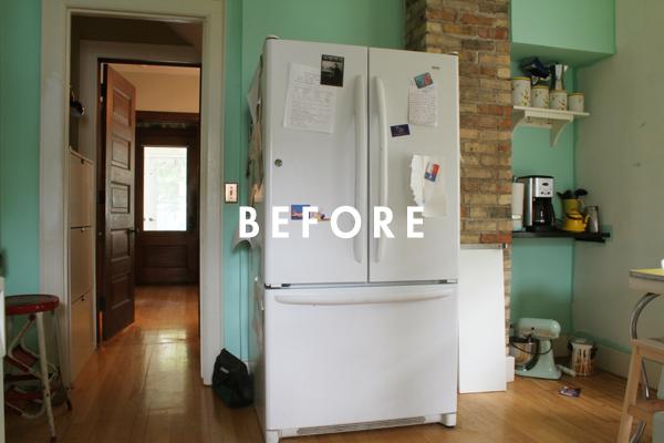 Deuce Cities Henhouse Kitchen Reveal - Before