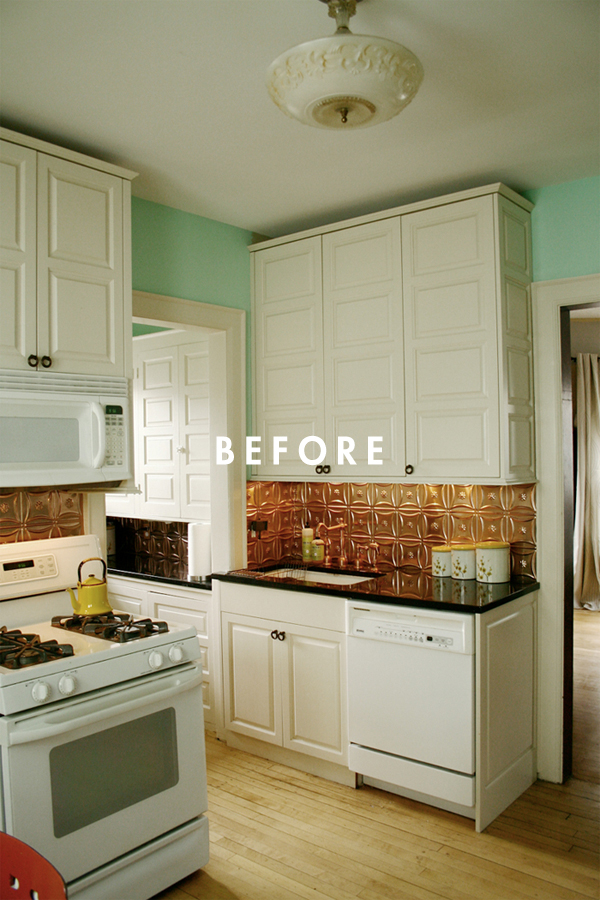 Deuce Cities Henhouse Kitchen Reveal - Before