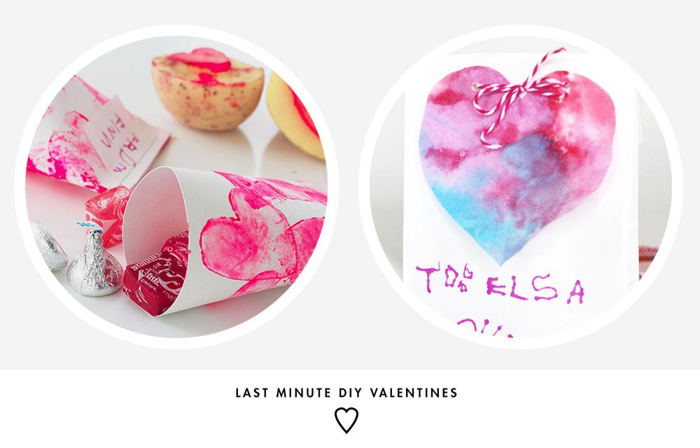 Last Minute DIY Valentine Ideas