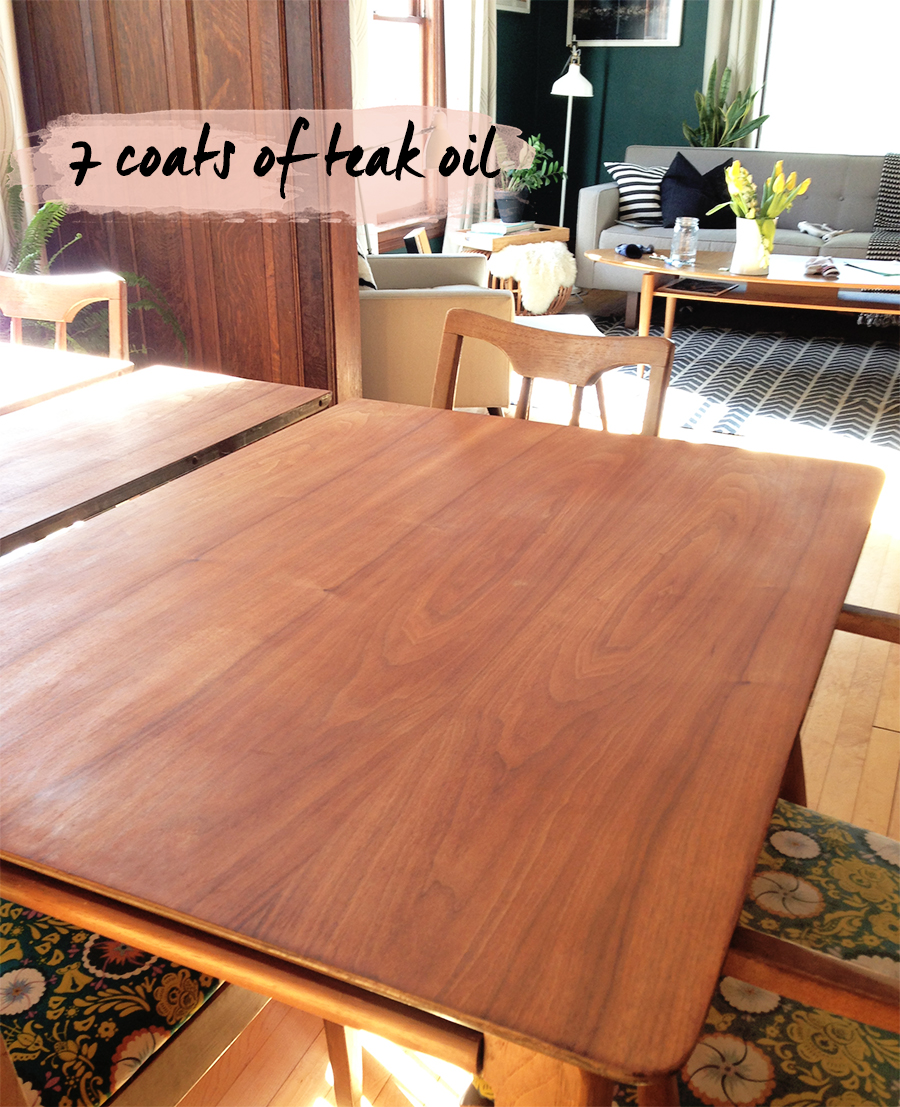 Refinishing Dining Room Table: Refinishing The Dining Room Table