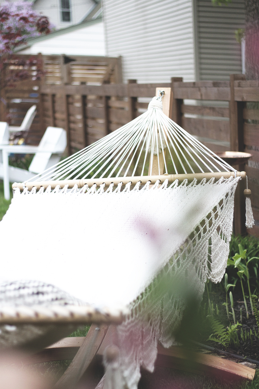 Arc Stand with Nicaraguan Hammock | Deuce Cities Henhouse