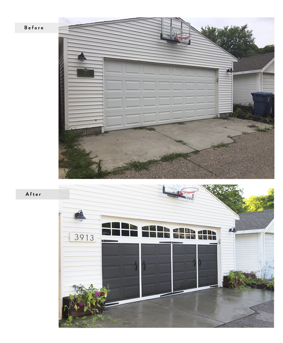 Easy Garage Makeover : Before & After | Deuce Cities Henhouse
