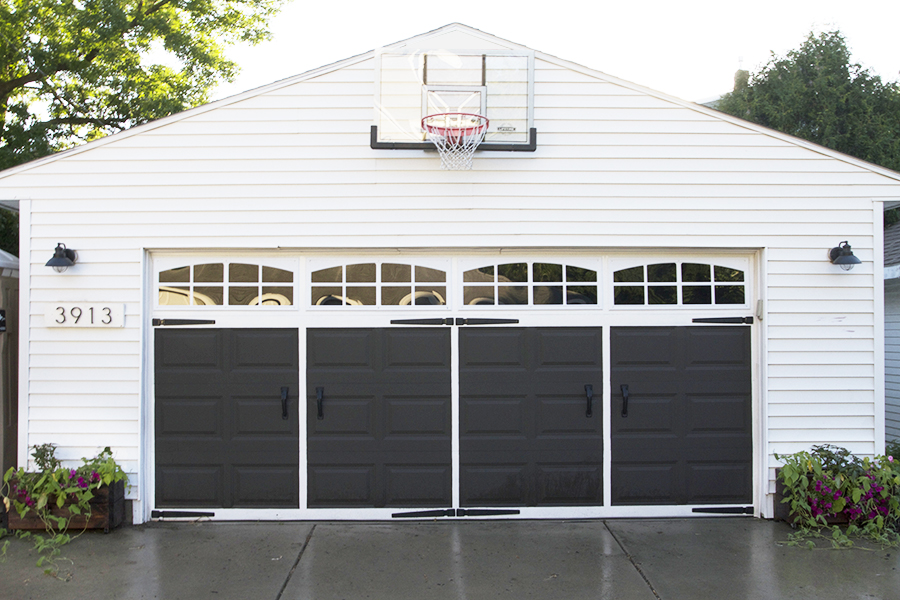 Easy Garage Makeover | Deuce Cities Henhouse