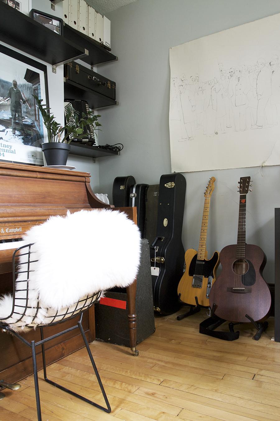 Piano & Record Room