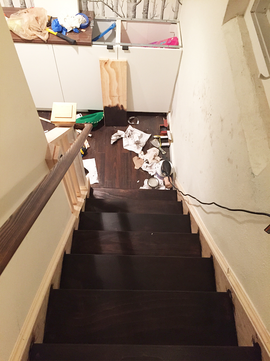 Transforming a Small Staircase