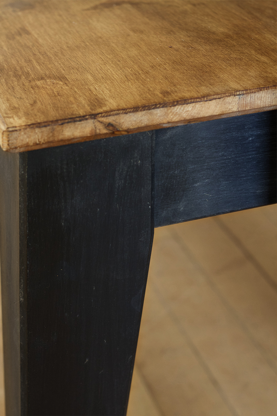 Table and Bench Facelift using Amy Howard at Home paints and waxes