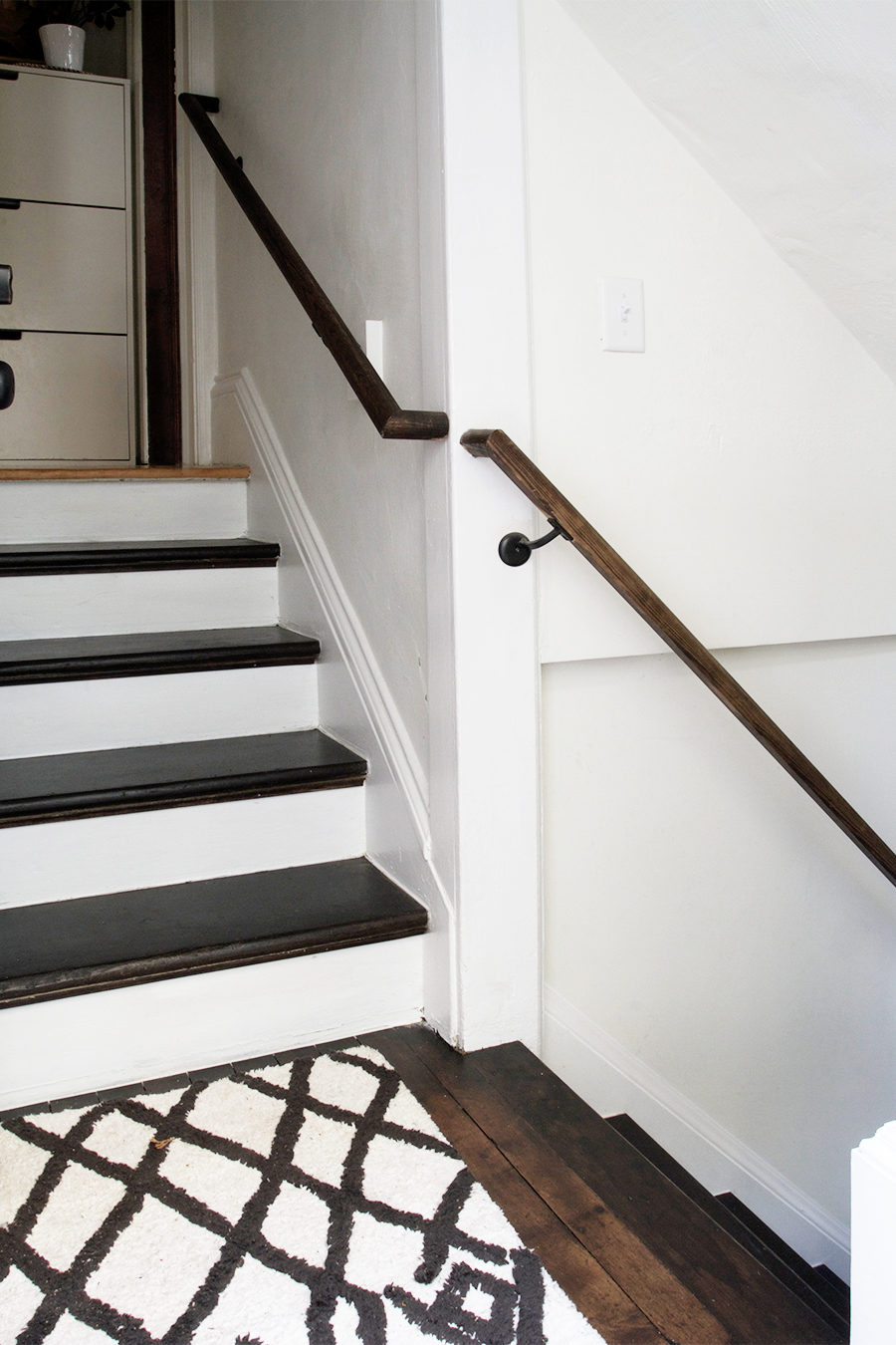 DIY Staircase with Treads