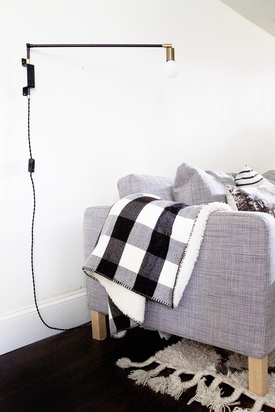DIY Swing Arm Lamp