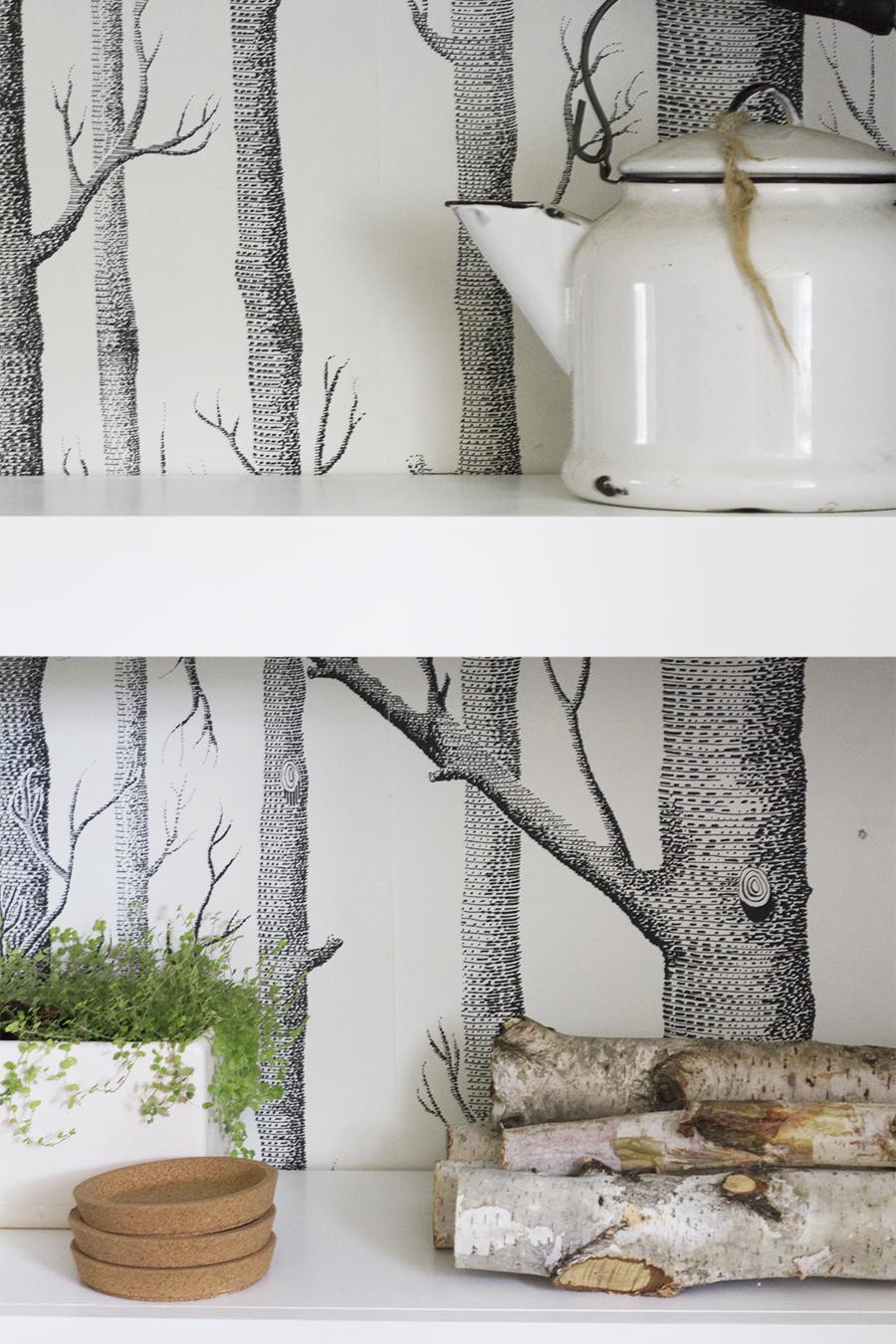 Floating Shelves Detail