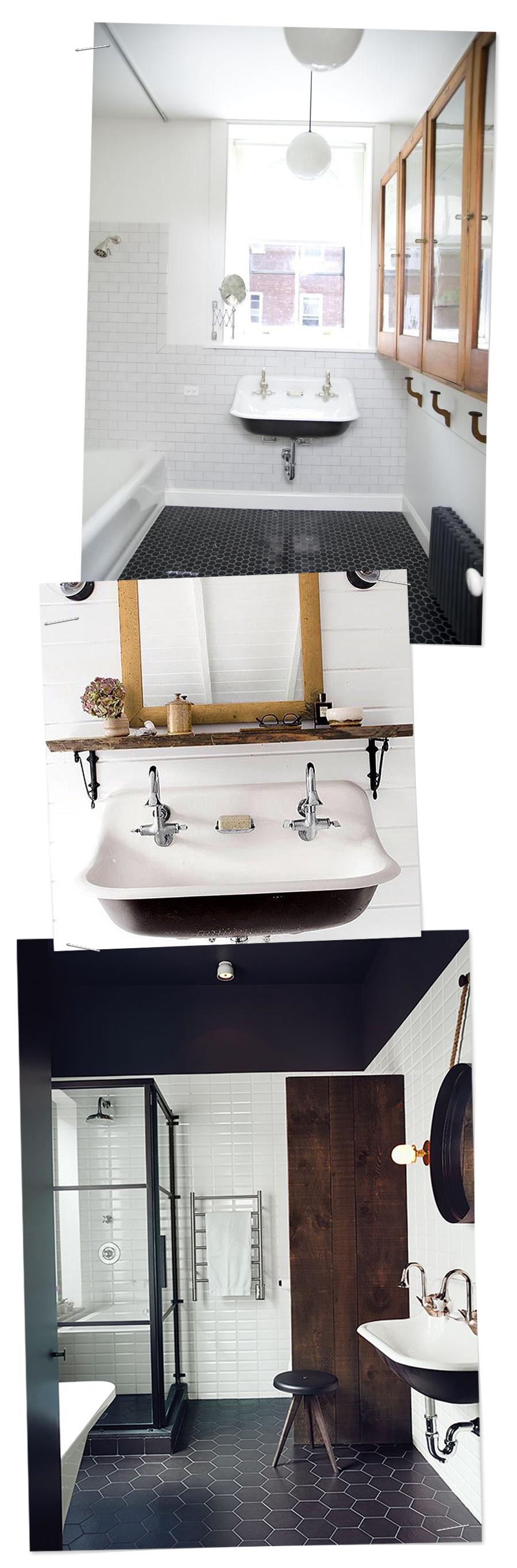 Inspirational Bathrooms : Brockway sink for a bit of vintage