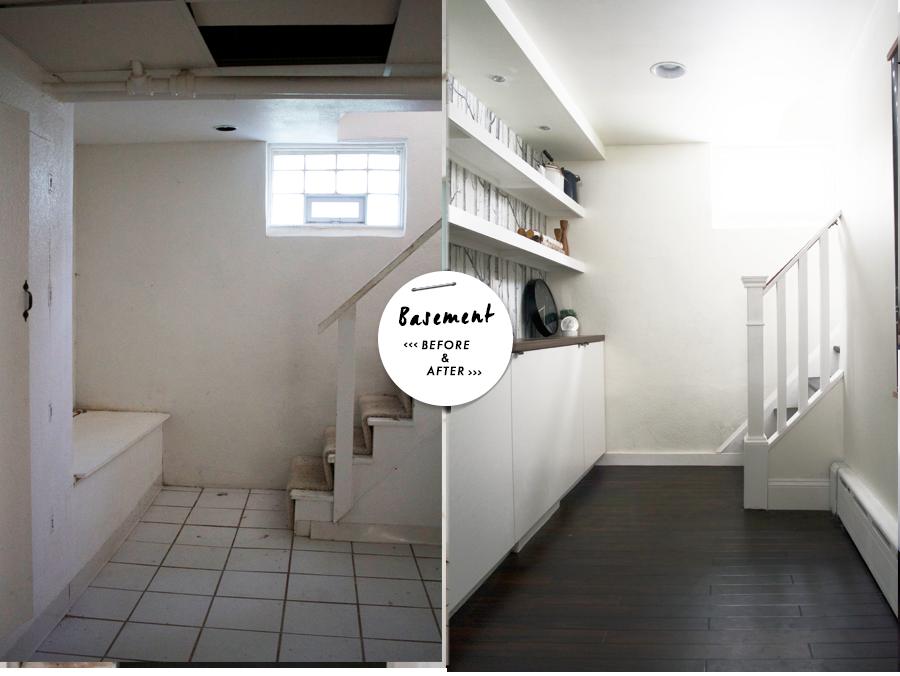 Modern Basement Remodel : Before & After